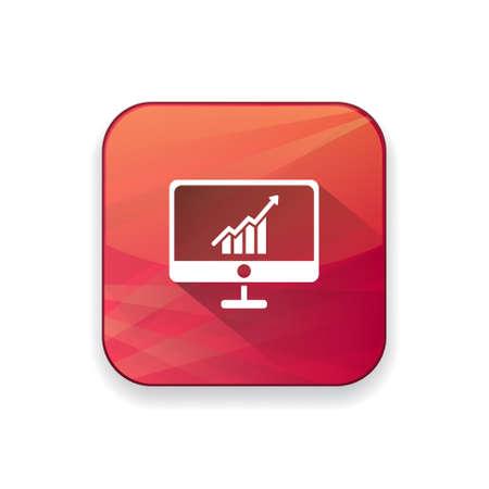 screen: growth chart screen  icon Illustration