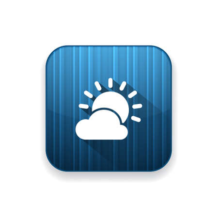 day forecast: cloudy day icon