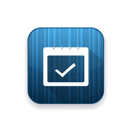 calendar icon: calendar approved   icon