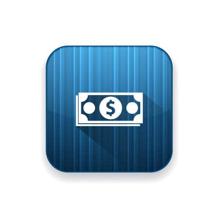 dollar icon: cash dollar icon Illustration