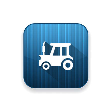 agronomy: tractor icon