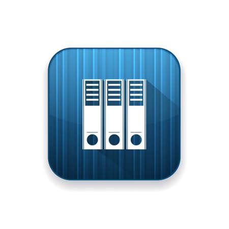 바인더: binder  icon 일러스트