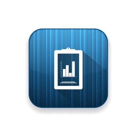 report icon: bar chart report icon