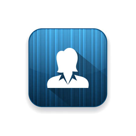 business woman: business woman   icon Illustration