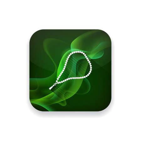 jewelry background: beads  icon