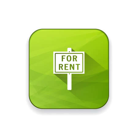 rent: for rent sign icon