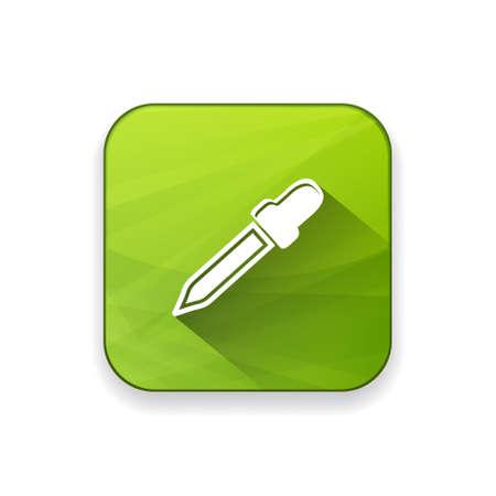 eye pipette: dropper  icon