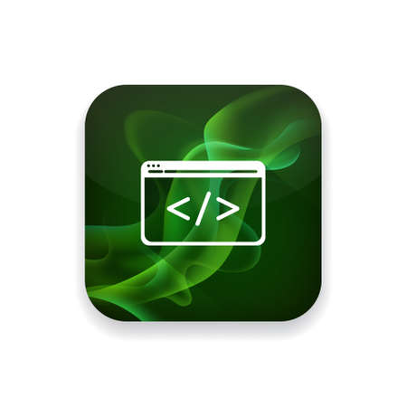 html: html icon Illustration