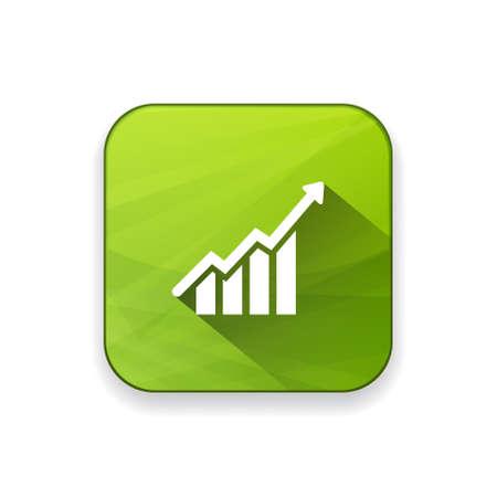 groeigrafiek icoon