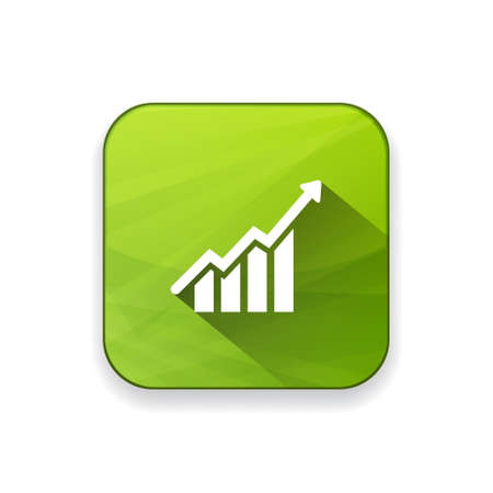 sales growth: growth chart   icon