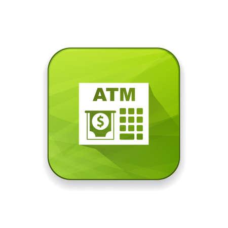 cash machine: ATM machine  icon