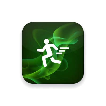 running icon: running icon