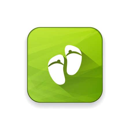 sandals: sandals  icon Illustration
