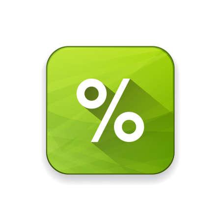 the percentage: percentage sign  icon