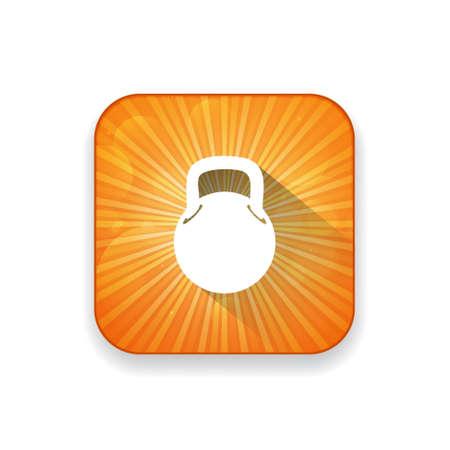 gram: bodybuilding weight icon