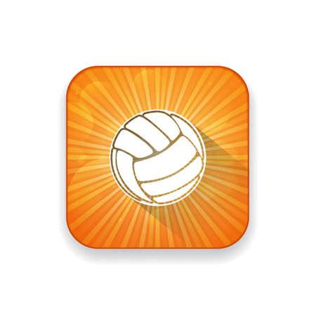 ballon volley: volley ball  icon