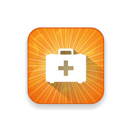 case: ambulance case icon Illustration