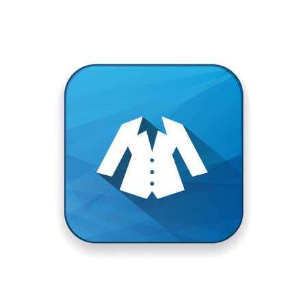 white blouse: icono de la chaqueta de las mujeres