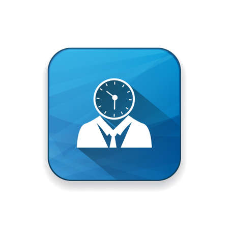 managing: managing time  icon Illustration
