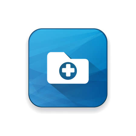 hospital patient: medical folder icon