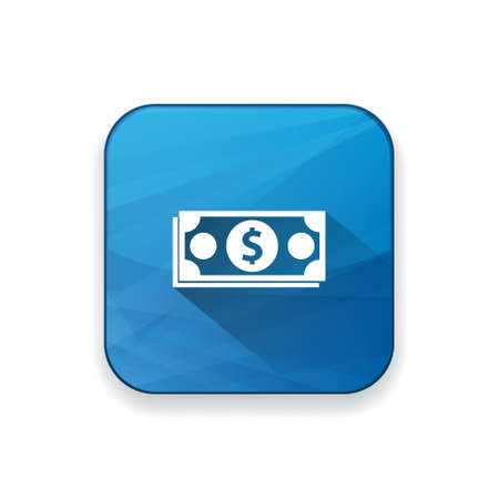 dollar icon: cash dollar icon Illustration