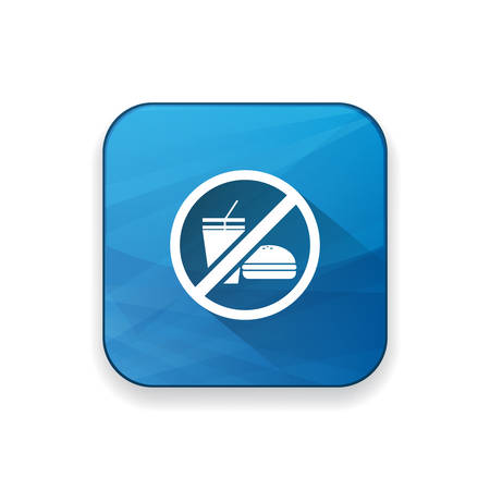 no food: no junk food icon