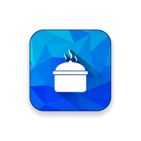 casserole: cooking pot icon