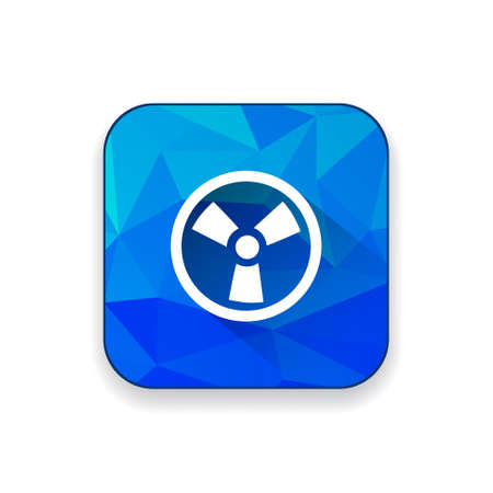 radio active: radio active icon Illustration