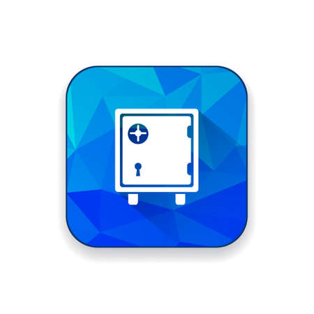 safety: bank safety box icon