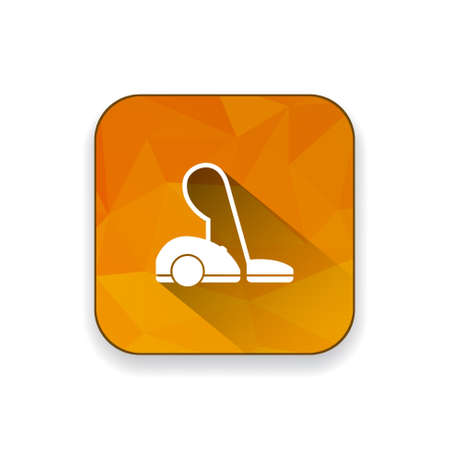 cleaning equipment: vacuum cleaner  icon