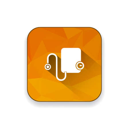 blood pressure monitor: blood pressure  measuring  icon