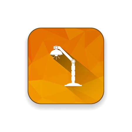 desk: desk light  icon Illustration