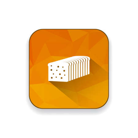 bread loaf: bread loaf  icon