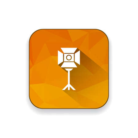 the equipment: photography lighting equipment   icon