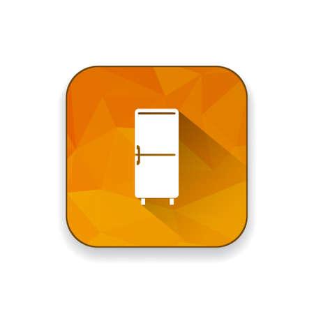 refrigerator: refrigerator   icon Illustration