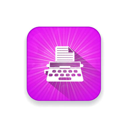 typewrite: typewrite   icon Illustration