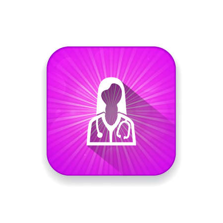 doctor icon: doctor  icon Illustration