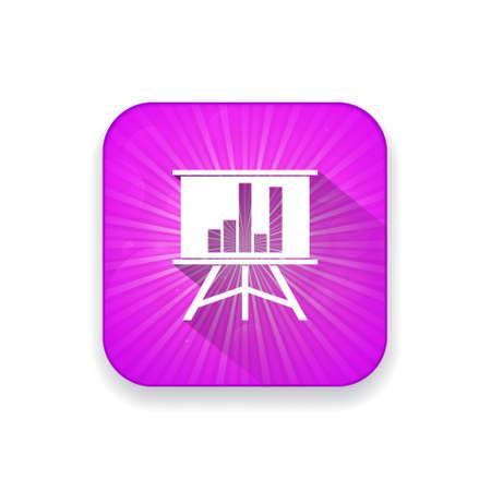 financial analysis: financial analysis presentation  icon