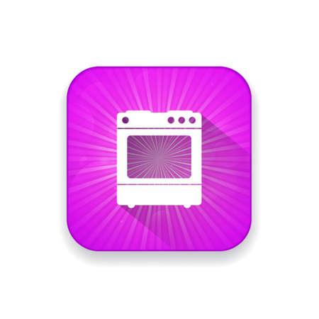 estufa: icono de la estufa