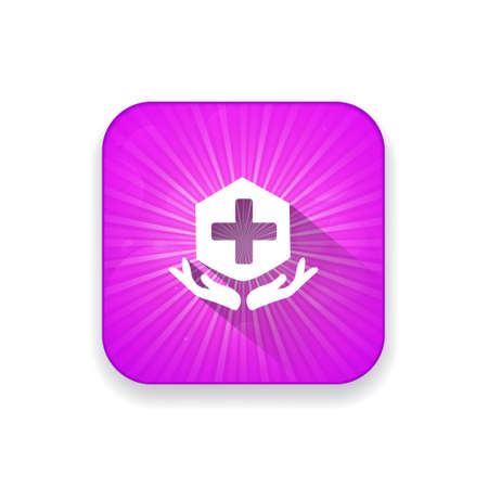 protection icon: medical protection icon