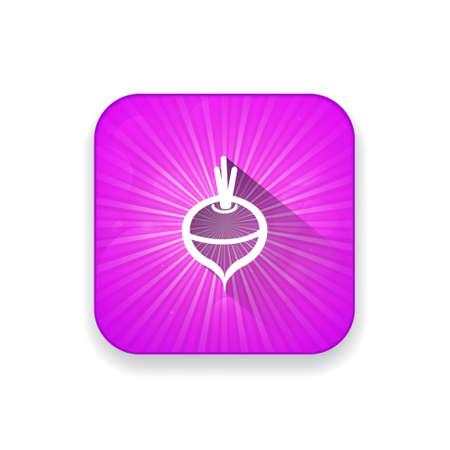 vegatables: radish  icon
