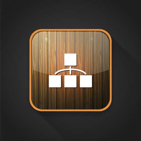 organisation: organisation chart   icon