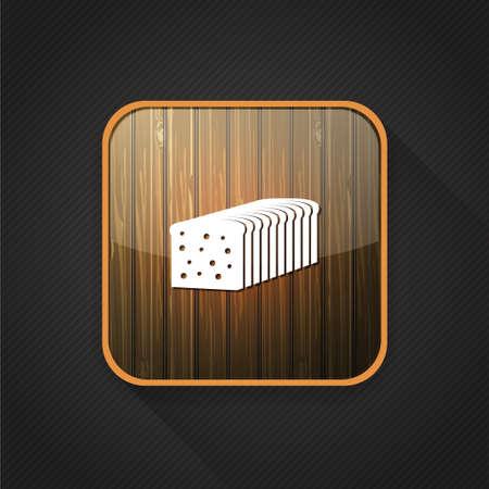 loaf: bread loaf  icon