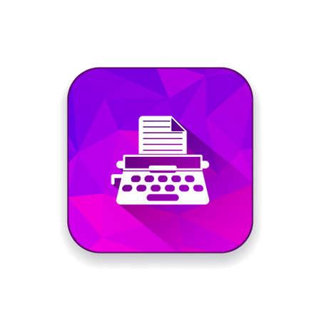 typewrite: typewrite   icon Illustration