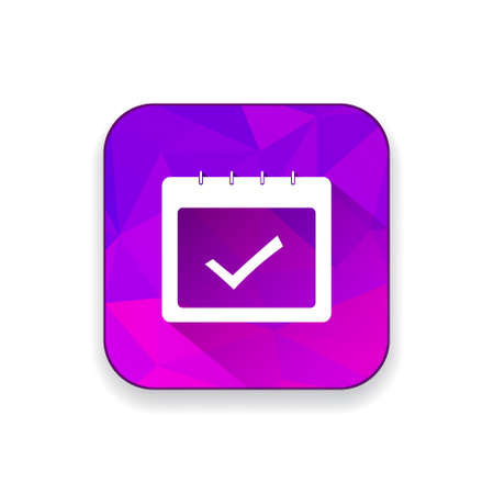 approved icon: calendar approved   icon