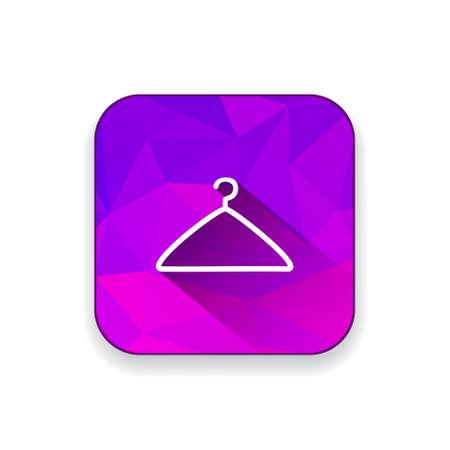 clothing rack: hanger  icon
