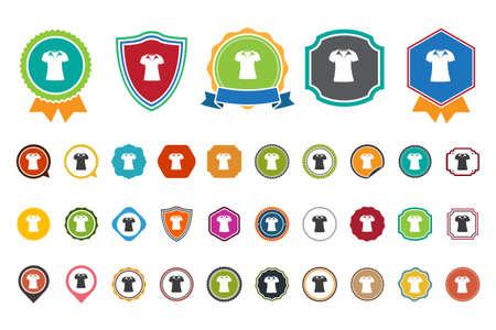 v neck: v shirt  icon