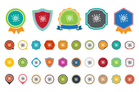 virology: Virology  icon Illustration