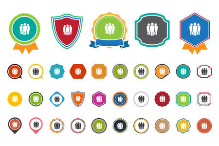group icon: group   icon Illustration