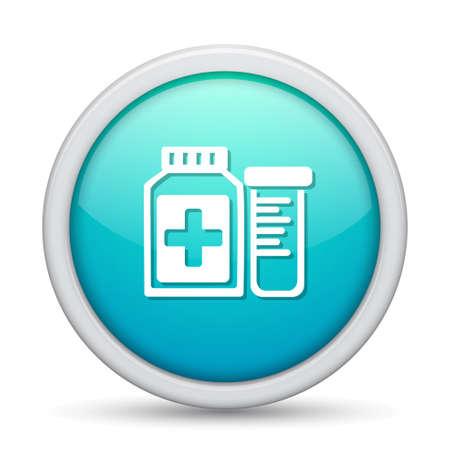 dose: Pharmaceutical  Drugs bottle icon